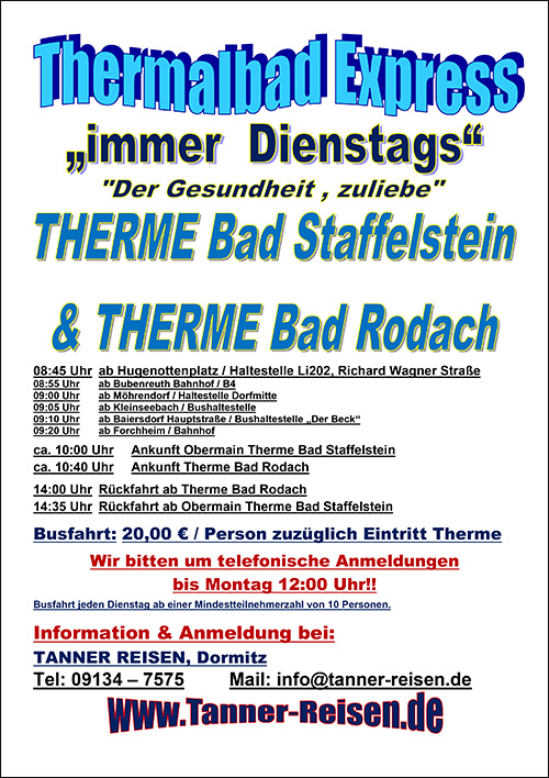Der Thermalbad Express